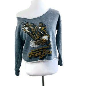 American Apparel Free Bird Off Shoulder Sweatshirt